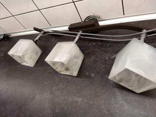 Żyrandol na trzy żarówki