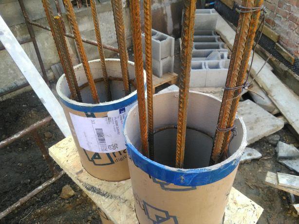 Szalunek, tuby na filarki, tuby na kolumny, kolumny, słupki forma