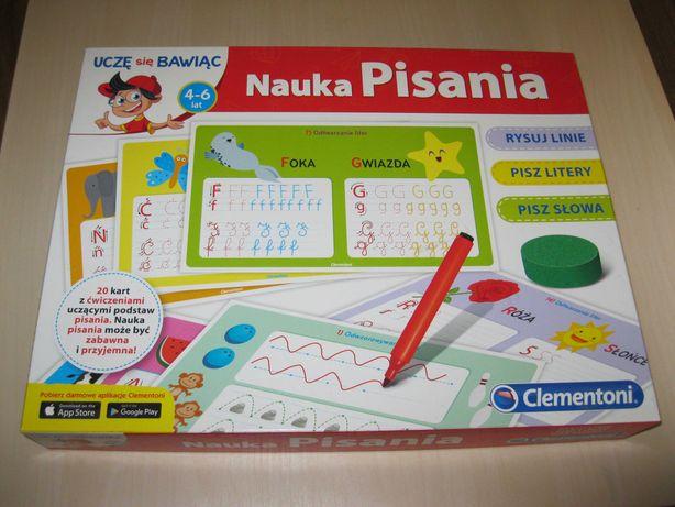 Uczę się bawiąc. Clementoni Nauka Pisania. 4-6 lat
