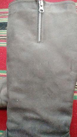 Сапоги зимние кожаные 39размер