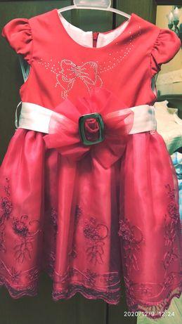 Платье нарядное утренник 4 года 104