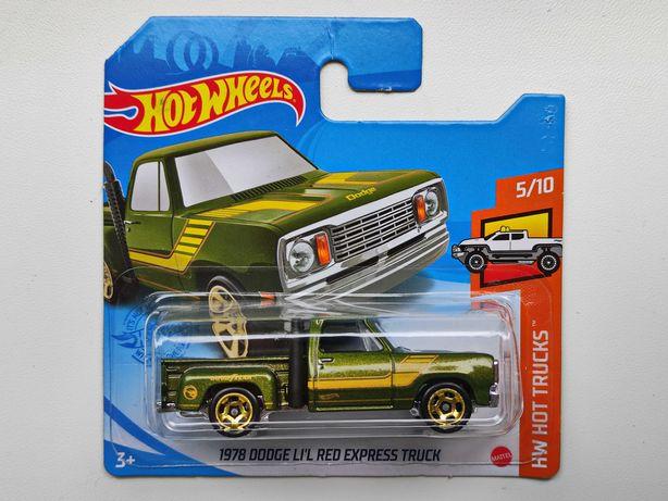 Машинка Hot Wheels Dodge 1978 LI'L Red Express Truck Treasure Hunt
