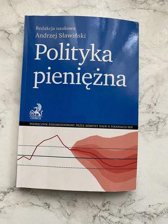 Andrzej Sławiński Polityka pieniężna