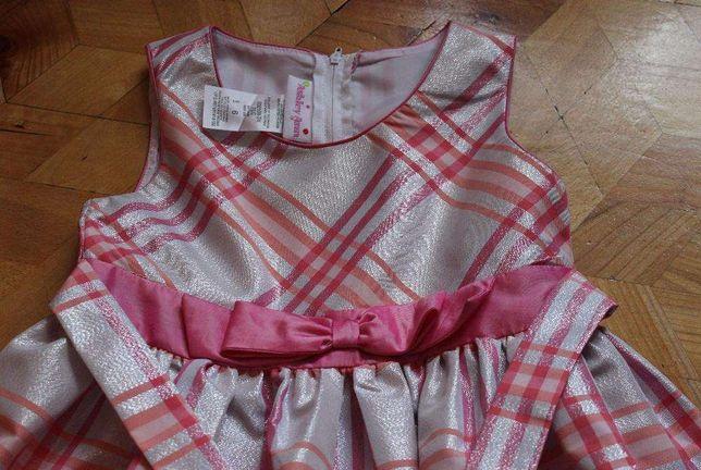 Piękna sukienka rozmiar 122-128 na 6 lat