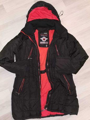 Płaszcz M/L ciepły zimowy przedłużany