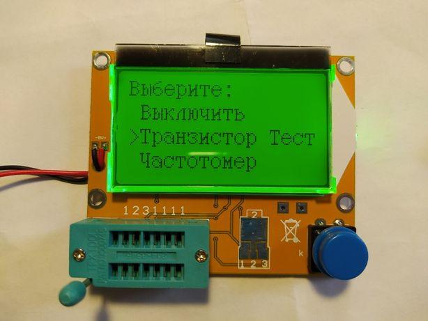 Транзистор тестер Т4, ESR LCR метр, рус. прош. с доп. функциями