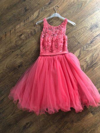 Piekna sukienka na wesele, bal, studniówkę - rozmiar S