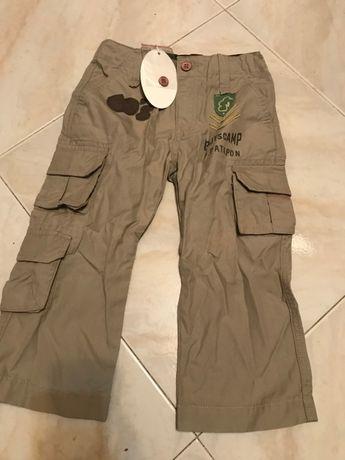 calças petit patapon tamanho 2-3 anos novas
