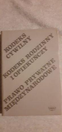 Kodeks cywilny, rodzinny i opiekuńczy 1985 rok