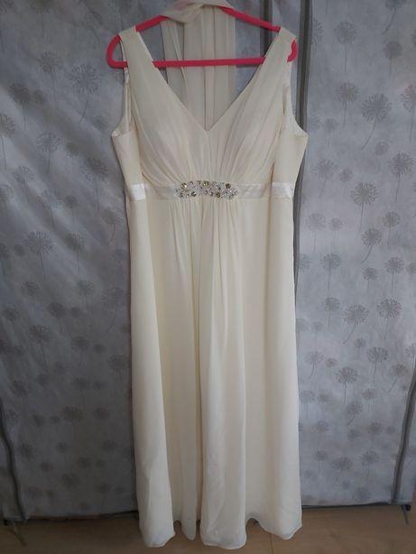 Suknia wieczorowa r. 48