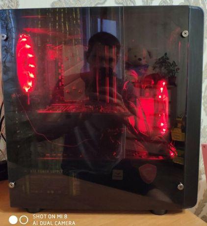 Игровой пк(ryzen 5 2600,msib450m pro-vdh plus, ОЗУ16gb(2x8),GTX1060 6