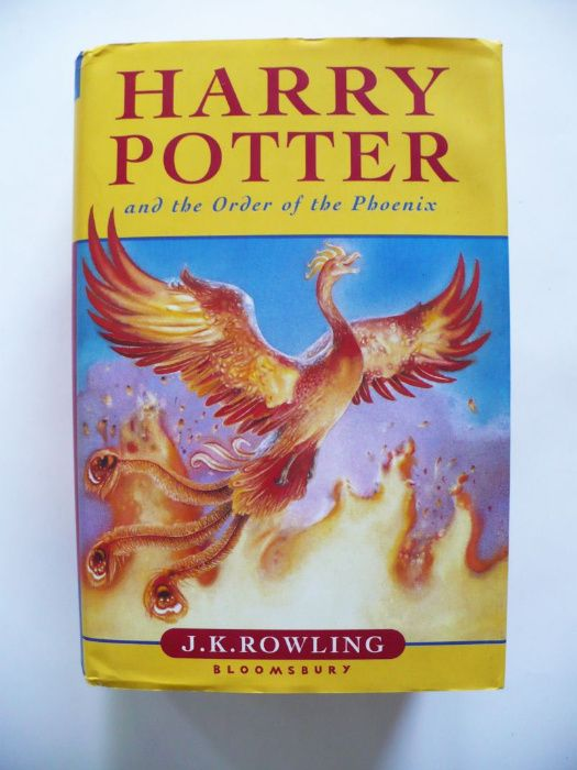 J.K. Rowling, Harry Potter Order of the Phoenix 2003 bdb Lublin - image 1