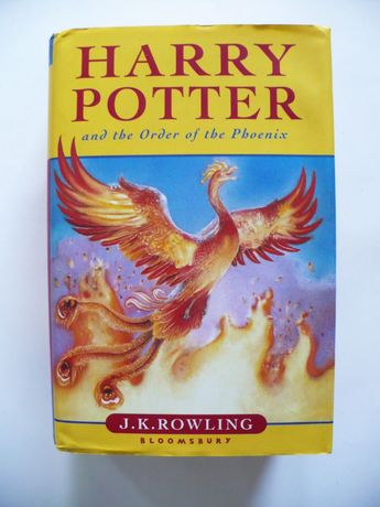 J.K. Rowling, Harry Potter Order of the Phoenix 2003 bdb