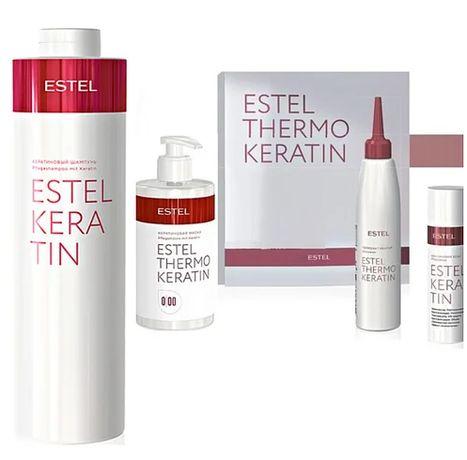 Набір для процедури Estel Thermokeratin + Кератиновий шампунь 1л