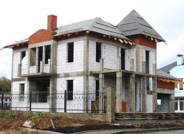 Строительство домов,фундамент. Бетонные работы. Кровельные работы.
