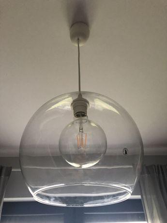 Lampa IKEA + żarówka ozdobna