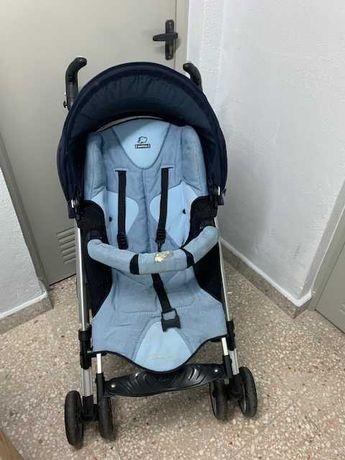 Carrinho de passeio da bebé confort, Loola, com capota e capa chuva