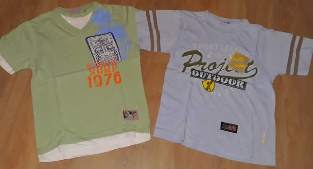 Paka/bluzka/bluzki/bluza/koszulka/koszula 11 szt rozm 128/134/146