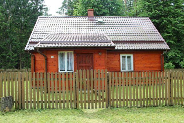Dom w lesie k. Augustowa