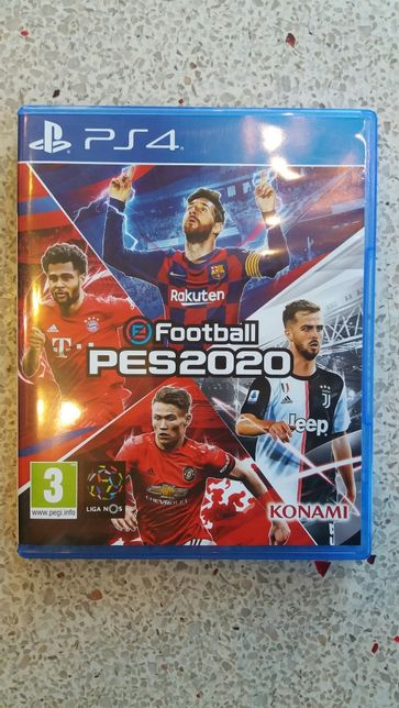 Pro Evolution Soccer PES 2020 PS4