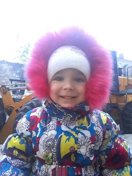 Зимняя куртка. Комбинезон. 92-110. Kiko. шапка в подарок