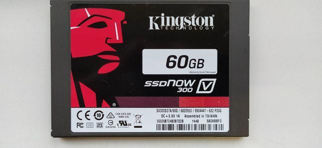 """Kingston SSDNow V300 60GB 2.5"""" SATAIII MLC (SV300S37A/60G)"""