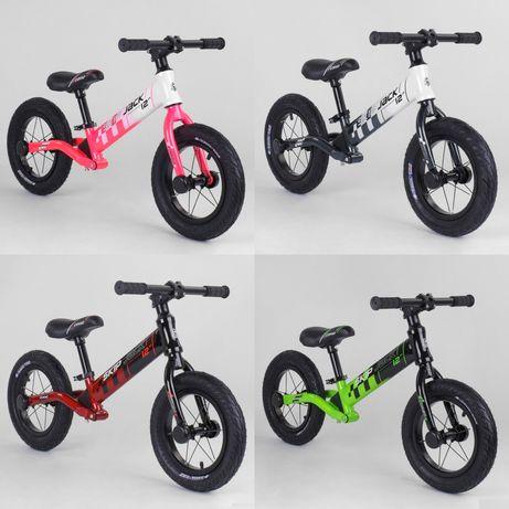 "Велобег Corso ""Skip Jack"", колесо 12"", алюминиевая рама, амортизатор"