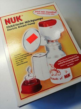 Odciągacz do pokarmu NUK, elektryczny - sieć/baterie, imitacja ssania