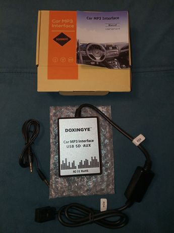 Car MP3 Interface USB SD AUX firmy DOXINGYE do radia RD4