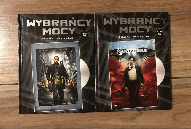 """Filmy DVD """"Constantine"""" i """"Jestem legendą"""""""""""