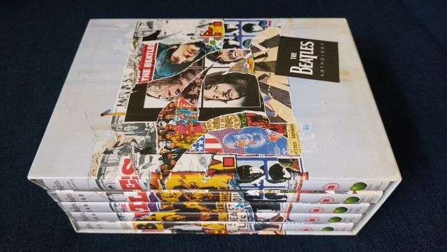 The Beatles Anthology Antologia 5 DVD Rarytas Unikat Super Stan!