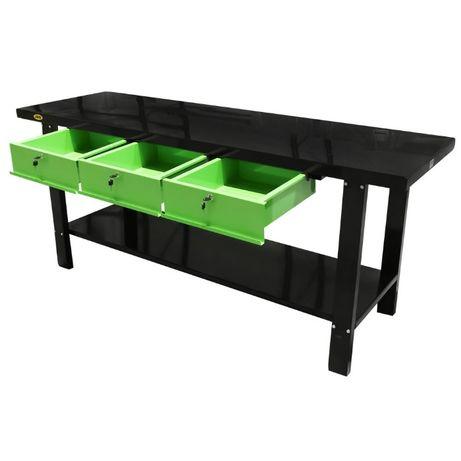 Mesa bancada de trabalho 3 gavetas valor c/ iva