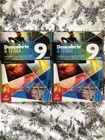 Livro ciências 'descobrir a terra' 9ano