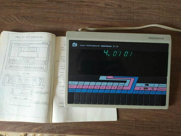 Часы программатор Электроника 21-10
