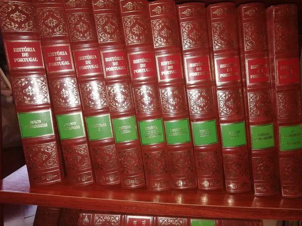 Colação de livros. História de Portugal e outros.