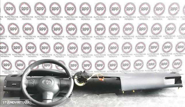 Airbags condutor e passageiro mais tablier Toyota Corolla E12.