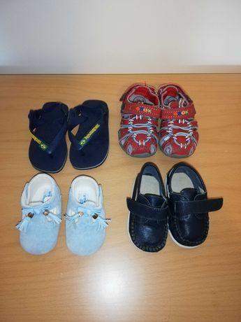 Conjunto sapatos para menino