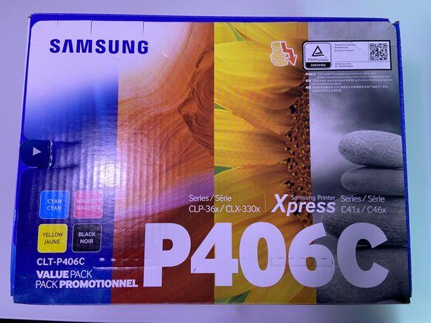 Samsung CLT-P406C oryginały nowe