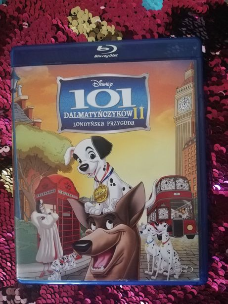 Blu-Ray 101 Dalmatyńczyków 2: Londyńska przygoda