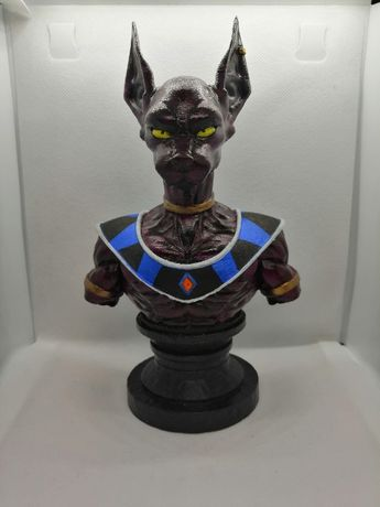 Beerus Dragon Ball Figurka 3D 22 cm