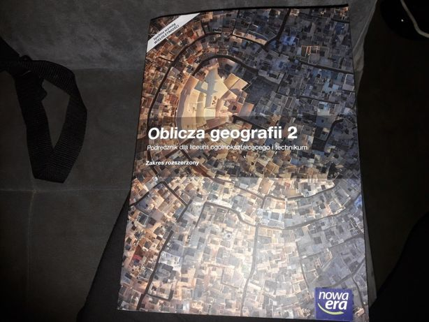 Sprzedam podręcznik Oblicza Geografii 2 zakres rozszerzony