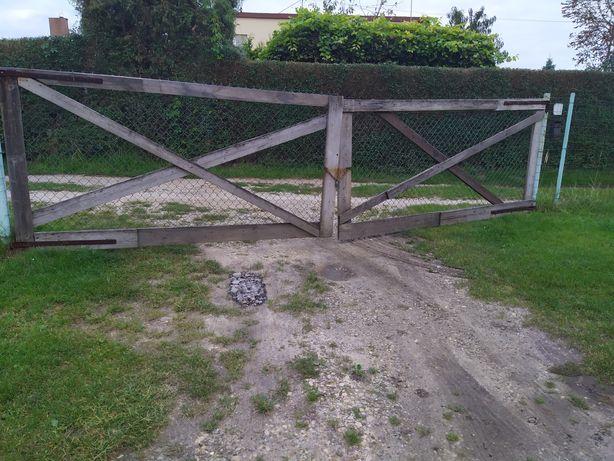 Brama ogrodzeniowa tymczasowa