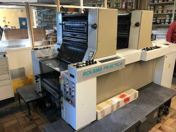 Maquina OFFSET 2 cores MAN ROLAND PRZ 00 2/0 - 1/1 E