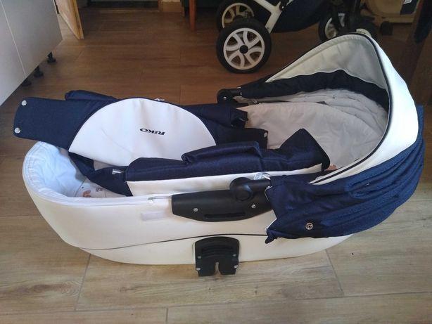 Wózek Brano Ecco + fotelik samochodowy