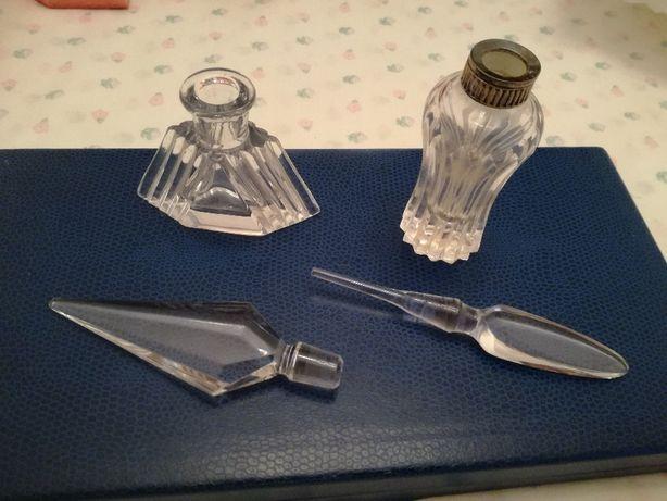 2 Frascos de Cristal para Perfume