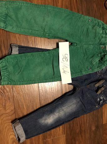 Spodnie dla chłopca smyk i c&a 98