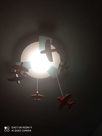 Lampa Philips samoloty