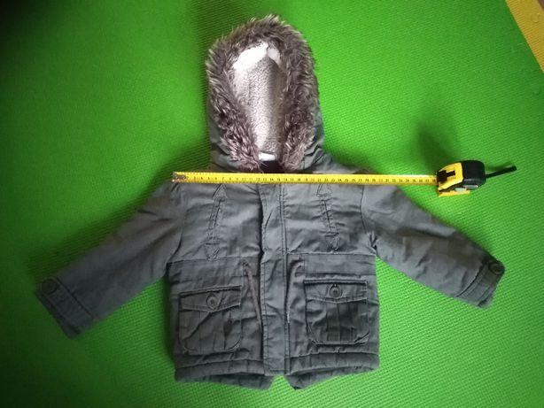 kurtka zimowa dziecięca 80 (9-12m)