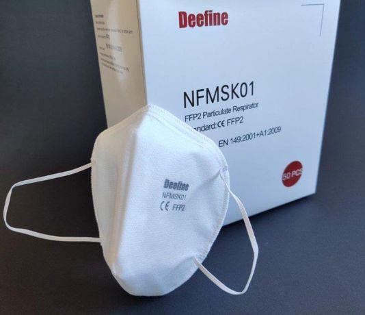 Maski KN95 FFP2 z certyfikatem CE
