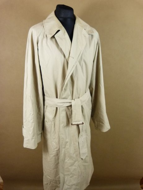 Burberry beżowy płaszcz XL 56